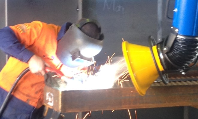 DCS Welding Fume Arm
