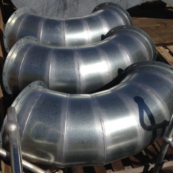 Lobster Bend Ducting